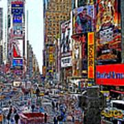 Time Square New York 20130503v4 Poster