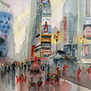 Time Square New York Poster