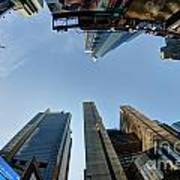 Time Square Sky View Poster