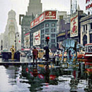 Times Square 1943 reloaded Poster