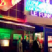 Times Square At Night - Le Funk Poster