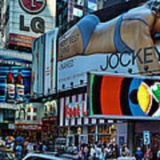 Times Square Energy Poster