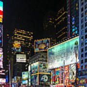 Times Square In 2010 Poster