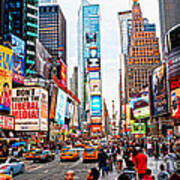 Times Square - New York City Poster