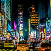 Times Square Nyc Poster