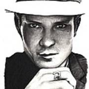 Timothy Olyphant Poster by Rosalinda Markle