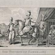 Timur Lenk (variously Spelt)  Asiatic Poster