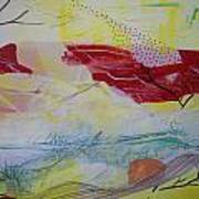 Tissue Paper Abstract 114 Poster