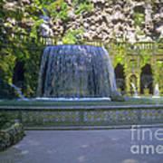 Tivoli Gardens Fountain And Pool Poster