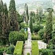 Tivoli Italy Park Poster