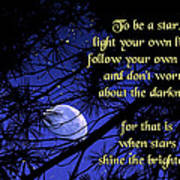To Be A Star Poster by Mike Flynn