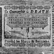 'to Counterfeit Is Death Poster