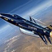 To The Edge Of Space - The X-15 Poster