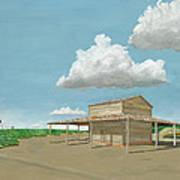 Tobacco Barn Poster