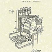 Tobacco Machine 1932 Patent Art Poster