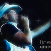 Toby Keith Fractal-1 Poster
