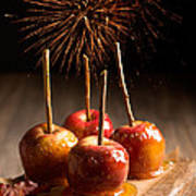 Toffee Apples Group Poster by Amanda Elwell