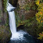 Toketee Waterfall Poster