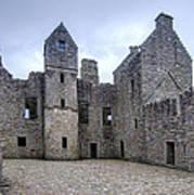 Tolquhon Castle 4 Poster
