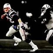 Tom Brady Scramble Poster