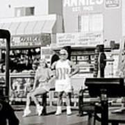 Tom Platz At Venice Beach Poster