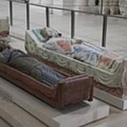 Tomb Of Richard I Of England Fontevraud Abbey Poster