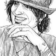 Tommy Lee Art Drawing Sketch Portrait Poster