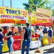 Tonys Concessions Potato Garlic Soup Bread Bowl Poster