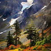 Top Of Cascade Pass Poster
