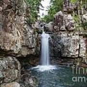 Top Of Cidar Falls Poster