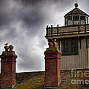 Top Of Point Fermin Lighthouse Poster