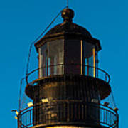 Top Of The Key West Lighthouse  Poster