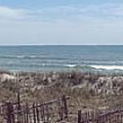 Topsail Beach Panorama 2 Poster