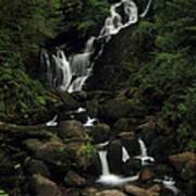 Torc Waterfall Poster by Peter Skelton