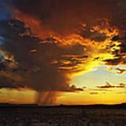 Tornado Of Fire Poster