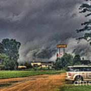 Tornado Over Madison 3 Poster