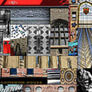 Toronto Textures 1 Poster