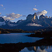 Torres Del Paine, Patagonia, Chile Poster