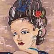 Torri Poster by Karen Carnow