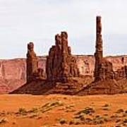 Totem Pole Buttes Poster