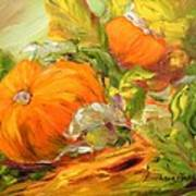 Touch Of Autumn Poster by Barbara Pirkle