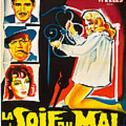 Touch Of Evil, Aka La Soif Du Mal, Left Poster