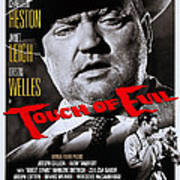 Touch Of Evil, Us Poster Art, Top Orson Poster