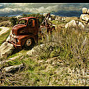 Tow Truck No Where To Go Poster