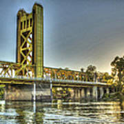 Tower  Bridge 2 Sacramento Poster