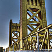 Tower Bridge 4 Sacramento Poster