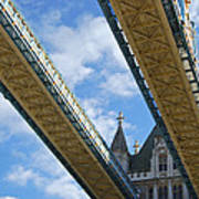 Tower Bridge Poster by Christi Kraft