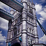 Tower Bridge London Poster by Mariola Bitner