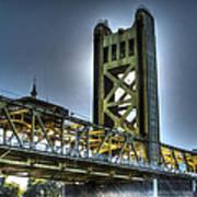 Tower Bridge Sacramento Poster