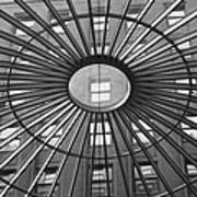 Tower City Center Architecture Poster